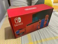 MUST LOOK !! Nintendo switch Mario special edition new with case