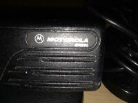 Motorola 2 way radio good condition plus magnetic aireal