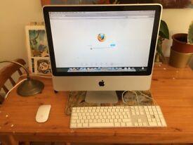 Apple iMac (20-inch, Early 2008) 2.4Ghz Intel Core 2 Duo / 4GB RAM / 500