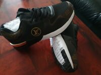 Brand new louis vuitton men shoes size 8 42EUR Brown and black available