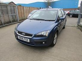 Ford Focus Zetec Climate 5dr (blue) 2006