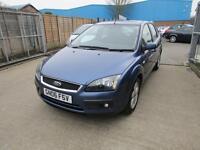 Ford Focus Zetec Climate 5dr (blue) 2006