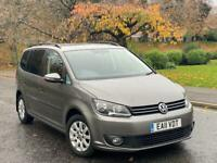 2011 Volkswagen Touran 1.6 TDI S 7 Seater Full Service History + Not Audi Seat Ford VW