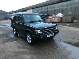 LAND ROVER DISCOVERY V8I ES AUTO FULLY LOADED 7 SEATER BLACK WITH FULL BLACK LEATHER HARMON KARDON