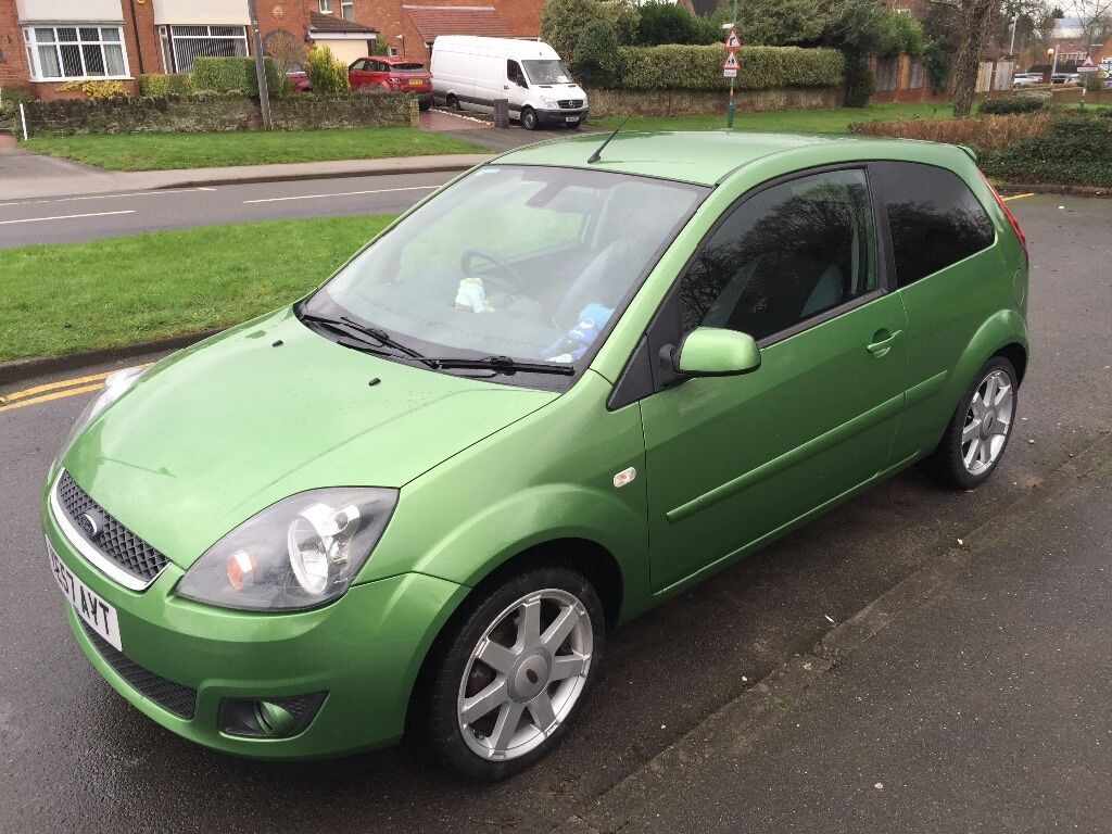 ford fiesta zetec mk6 apple green in solihull west. Black Bedroom Furniture Sets. Home Design Ideas