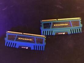 16gb Corsair vengeance DDR3 1600mhz ram