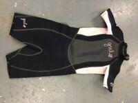 Gul shortie wetsuit size JM chest 71cm