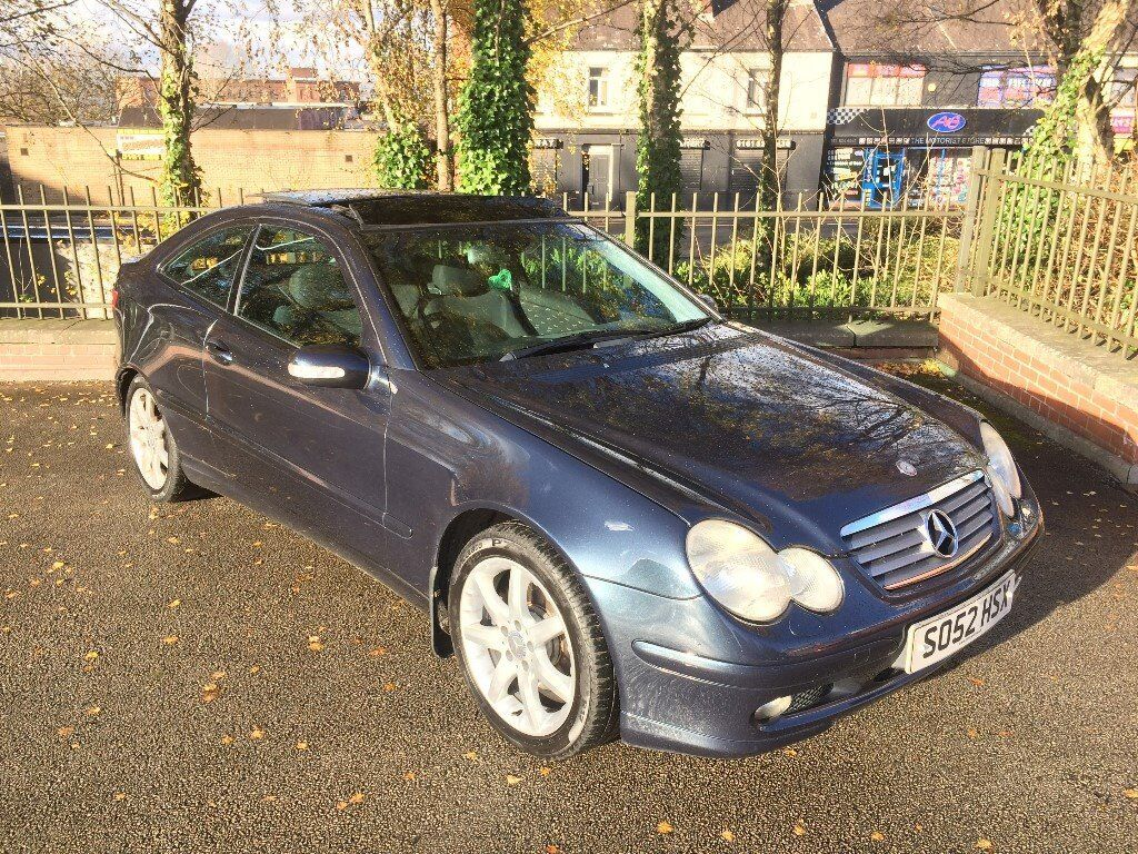2003 mercedes c230 kompressor se automatic long mot 96k miles pan roof very clean new years sale. Black Bedroom Furniture Sets. Home Design Ideas