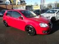 VOLKSWAGEN GOLF 2.0 TDI GT 5dr (red) 2007