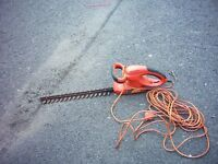 hedge cutter electric