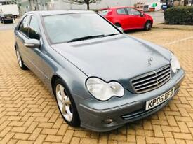 Mercedes C220 CDI SE AVANT-GARDE,AUTO, ONLY 65k MILEAGE,LEATHER,2005,DIESEL, SRV.Hstry!