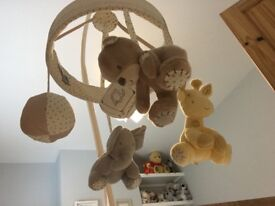 Mothercare Cot Bumper and Mobile