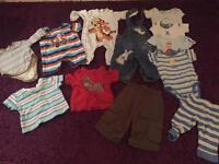 3-6 month baby boys clothes bundle