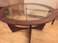 Vintage G Plan Astro - Geometric Wooden Coffee Table