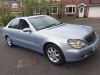 Mercedes s320 diesel car automatic 141000 miles mot full service history drives like new £1499