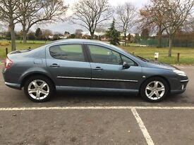 2006 Peugeot 407 2.0 HDi SE 4dr Automatic Low Mileage HPI Clear @07445775115@ 07725982426@
