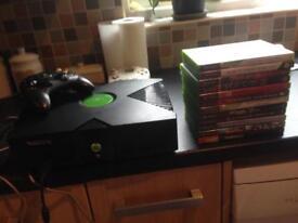 Original Xbox with 12 games