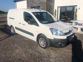 Berlingo van 3 seats lwb 2 side doors