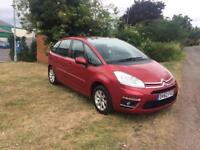 CITROEN C4 PICASSO 1.6 HDi EDITION, 1 Owner From New, MOT April 2019 (red) 2012