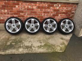 """18"""" Volkswagen Alloy wheels"""