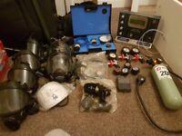 Air fed respirators