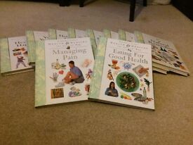 Health and Healing - The Natural Way. A set of 10 large hard-backed books.