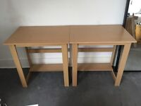 4 Wooden Desks available