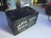 12v 12ah Sla battery used