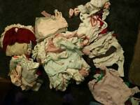 Huge collection (about 50 items) of newborn 0-3 baby girl clothes