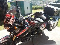 Yamaha XT1200Z Super Tenere with full Givi Trekker luggage