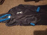 Onesie - Tottenham Hotspur/Spurs - to fit ages 10-12 - Blue Fleece