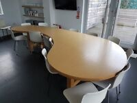 Deisgner, bespoke Kitchen Table for Sale