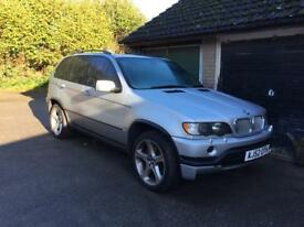BMW X5 4.6is with lpg conversion spare or repair