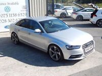 LATE 2012 AUDI A4 SE 2.0TDIe 143PS 4DR SALOON ( FINANCE AND WARRANTY AVAILABLE)
