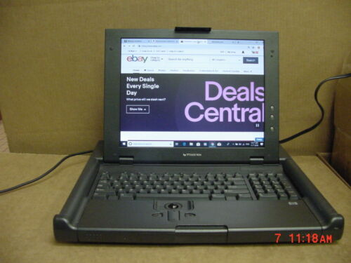 "HP TFT5600 RKM - KVM Server Console 15"" LCD Monitor Keyboard Cables - No Rails"