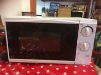 700W Cat D Tesco Microwave hardly used!