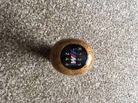 BMW M sport gear knob.