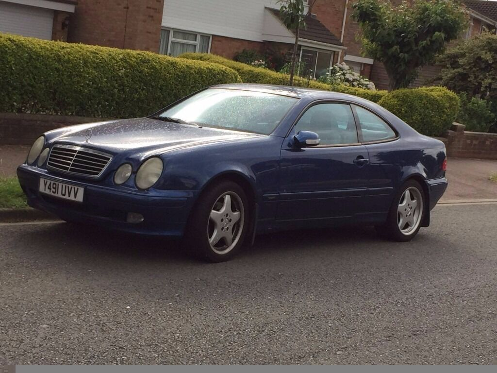 mercedes benz clk 230 amg kompressor rare one of a kind in bedford bedfordshire gumtree. Black Bedroom Furniture Sets. Home Design Ideas