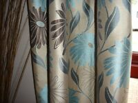 Lined curtains (3 pairs)