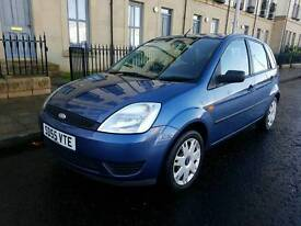 Very clean ford fiesta 1.25 Style 55 plate