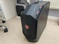 Omen Case Custom Gaming PC build. I5 8th gen, 16gb DDR4, GTX 1050ti