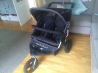 Double pushchair nipper 360 out and about