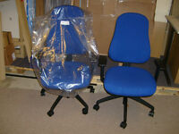 DUE TO A CANCELLED ORDER - PSI NOVA SUPERIOR TASK/COMPUTER CHAIR - BLUE
