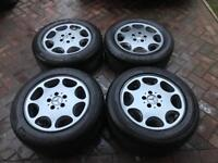 Mercedes 8 Hole SL Alloys 16 x 8 et34