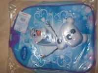 BRAND NEW - Olaf 3D Junior Back Pack - Beautiful Item - Paid £19.99 - Collect PE27 or can Post