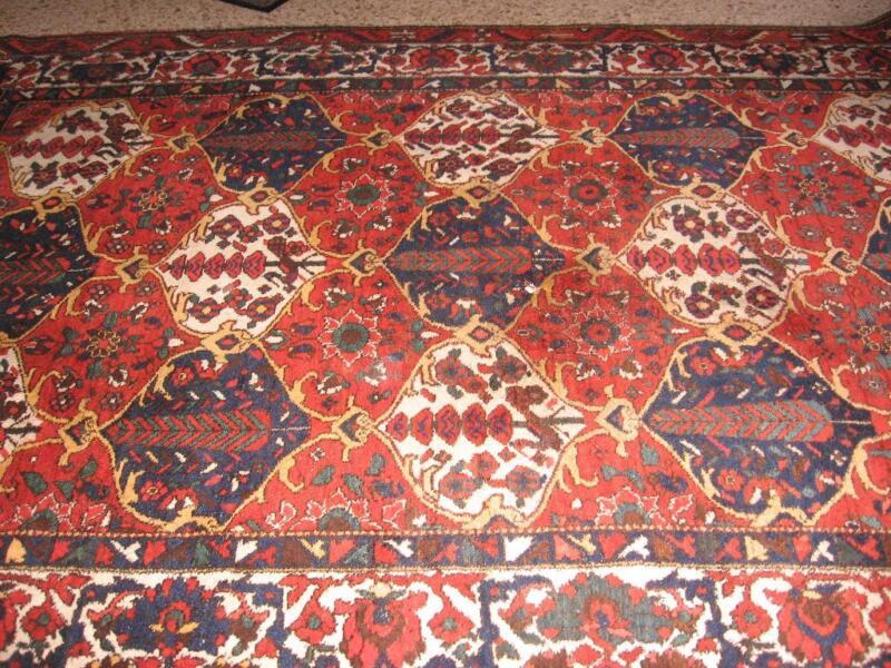 persischer antik teppich 220 x 285 handgekn pft in rheinland pfalz bad kreuznach. Black Bedroom Furniture Sets. Home Design Ideas