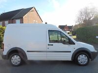 FINANCE ME!! NO VAT!! Ford Connect L220 LWB High Top Panel Van. With 100k from 1 previous owner!!