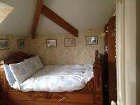 Spacious attic rooms