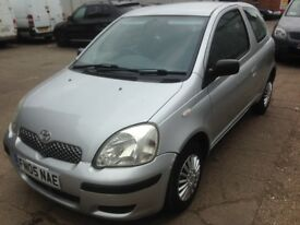 2005 05 Toyota Yaris T2 1.0 3dr long mot march 2018 and just had full service
