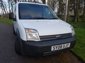 EXCELLENT CONDITION WITH NO VAT - FORD TRANSIT CONNECT SWB 1.8 TDCi (75ps) 200 LOW ROOF